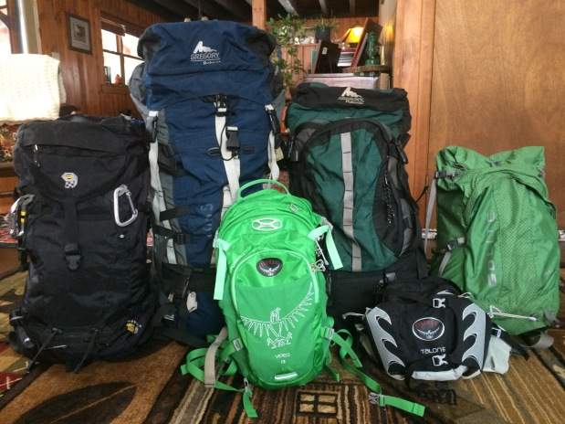 Plan on Hiking/Backpacking? Which pack is for you?