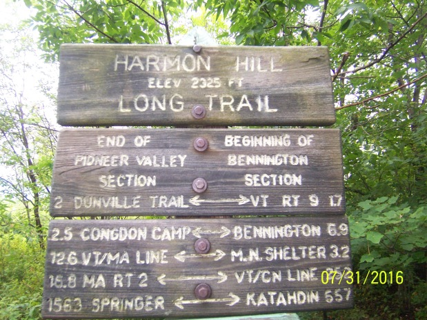 Long Trail: 8/1 Kidgore Shelter 18.5 Miles