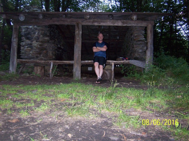 Long Trail: 8/5 Governer Clement Shelter 19.4Miles